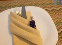 Dobradura de Guardanapo - Pano ou Papel sua mesa vai ficar linda!
