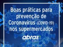 ABRAS divulga Cartilha de Boas Práticas contra o Coronavírus