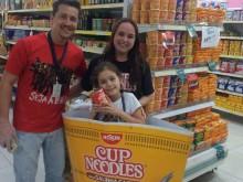 Cup Noodles no Super Silva - Penha