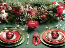 Mesas de Natal com Decorações Lindas e sem Gastar muito.....