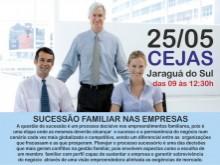 """Palestra """"Sucessão Familiar nas Empresas"""""""
