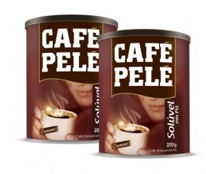 Café Pelé  Solúvel  Lata 200g