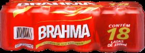 Cerveja Pilsen Brahma 350ml Pack 18 Latas