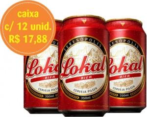 Cerveja Pilsen Lokal Lata 350ml