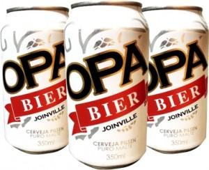 Cerveja Pilsen Opa Bier Lata 350ml