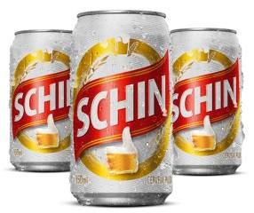 Cerveja Pilsen Schin Lata 350ml