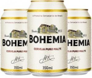 Cerveja Puro Malte Bohemia Lata 350ml