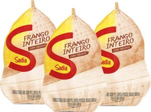 Frango Inteiro Congelado Sadia Kg