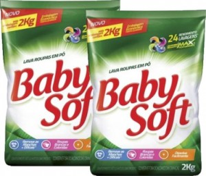 Lava Roupas Baby Soft Sachê 2Kg
