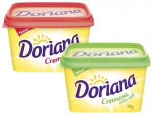Margarina Doriana Cremosa c/s Sal 500g