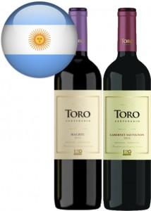 Vinho Argentino Toro Cabernet Sauvignon-Malbec Garrafa 750ml