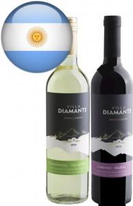 Vinho Argentino Villa Diamante Bivarietal Garrafa 750ml