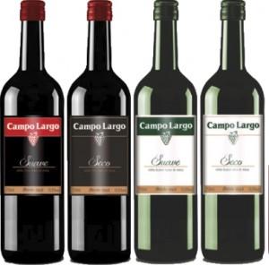 Vinho Campo Largo Garrafa 750ml