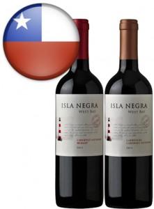 Vinho Chileno Isla Negra West Bay Garrafa 750ml