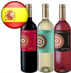 Vinho Espanhol Sobremonte Tempranillo Garrafa 750ml