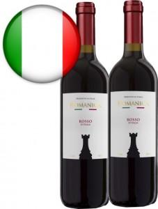 Vinho Italiano Torre Romanica Rosso Garrafa 750ml