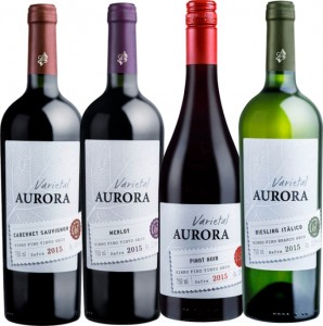 Vinho Nacional Aurora Varietal Garrafa 750ml