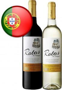Vinho Português Rotas de Portugal Garrafa 750ml